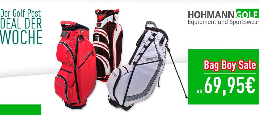 Diese Woche im Angebot: Bag Boy Bags bereits ab 69,95 Euro! (Foto: Golf Post)