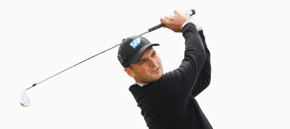 Martin Kaymer spielt am Montag seine beste Runde auf dem Old Course. (Foto: Getty)