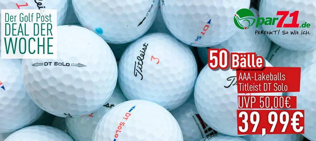 50 Lakeballs im Sonderangebot bei par71.de - schlagen Sie zu, das Angebot ist begrenzt! (Foto: Golf Post)