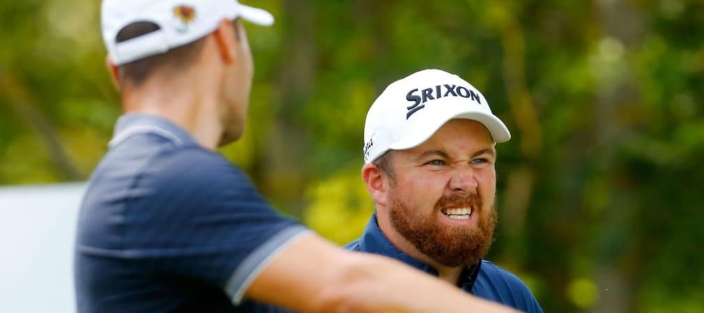 Martin Kaymer (l.) und Shane Lowry liefern die Hauptthemen im Golf Post Talk.