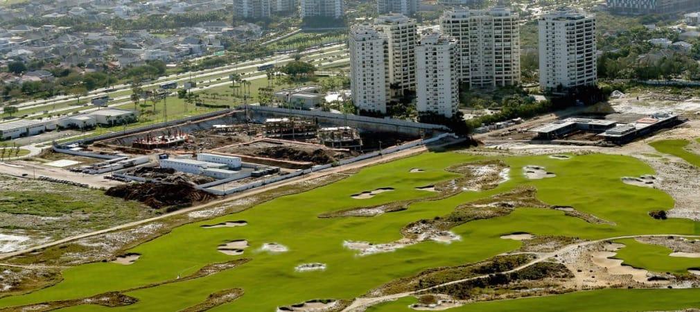 Noch ein Jahr bis zum ersten Abschlag auf diesem Golfplatz: Der Olympia-Golfplatz in Rio de Janeiro. (Foto: Getty)