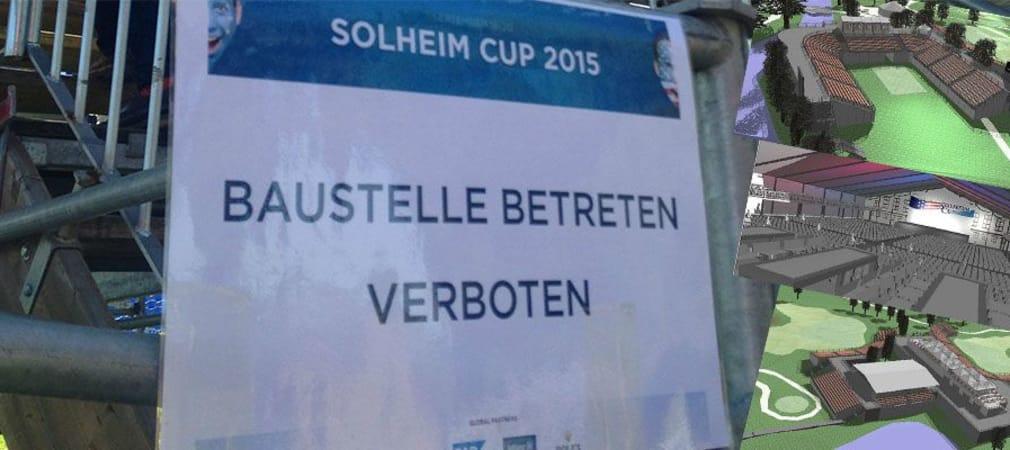 In St. Leon-Rot wird daran gearbeitet, zum Solheim Cup im September Party-Stimmung zu generieren.