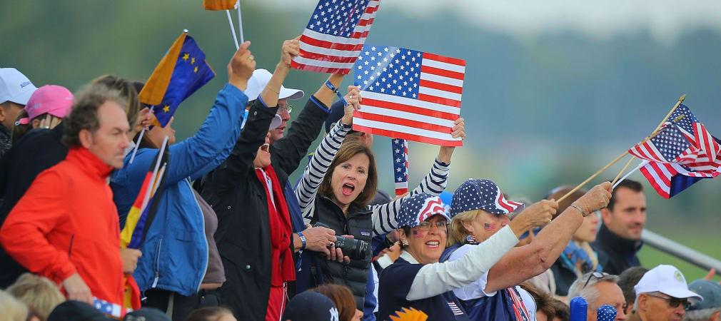 Team USA siegt beim Solheim Cup 2015. (Foto: Getty)