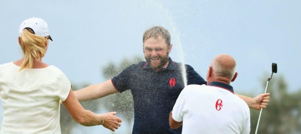 Beim Portugal Masters lässt Andy Sullivan die Konkurrenz im Regen stehen. (Foto: Getty)