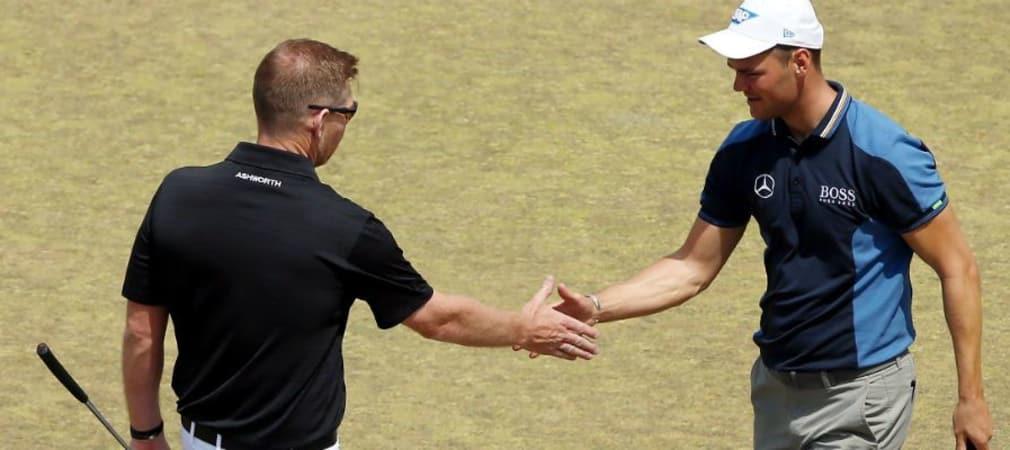 Martin Kaymer trifft beim Portugal Masters in seinem Flight unter anderem auf den Ryder-Cup-Kollegen Stephen gallacher.