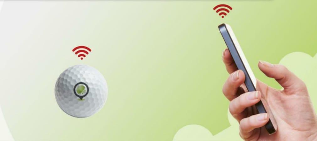 Via Bluetooth sollen sich die Never Lost Golfbälle wesentlich schneller finden lassen. (Foto: Chip-ing)