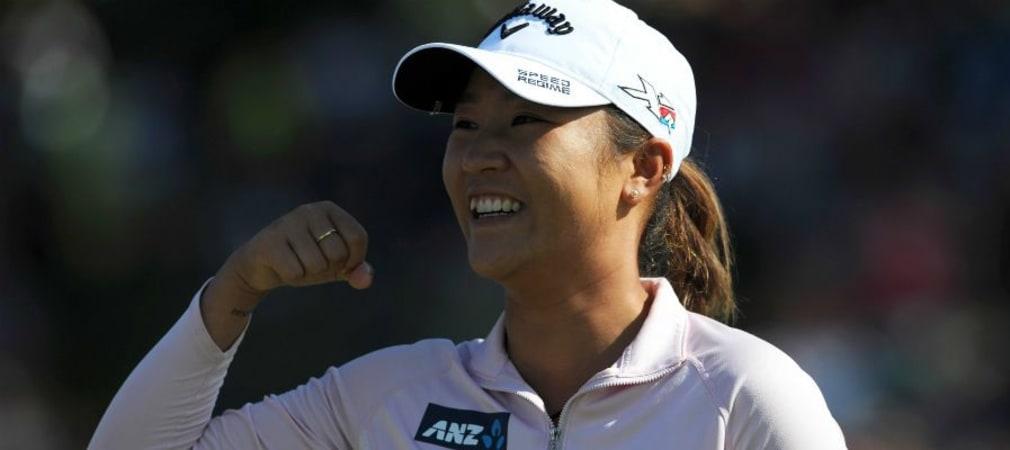 Viel zu lachen und zu feiern gab es in dieser Saison für Lydia Ko, die zum zweiten Mal die Saisonwertung gewinnen will. (Foto: Getty)