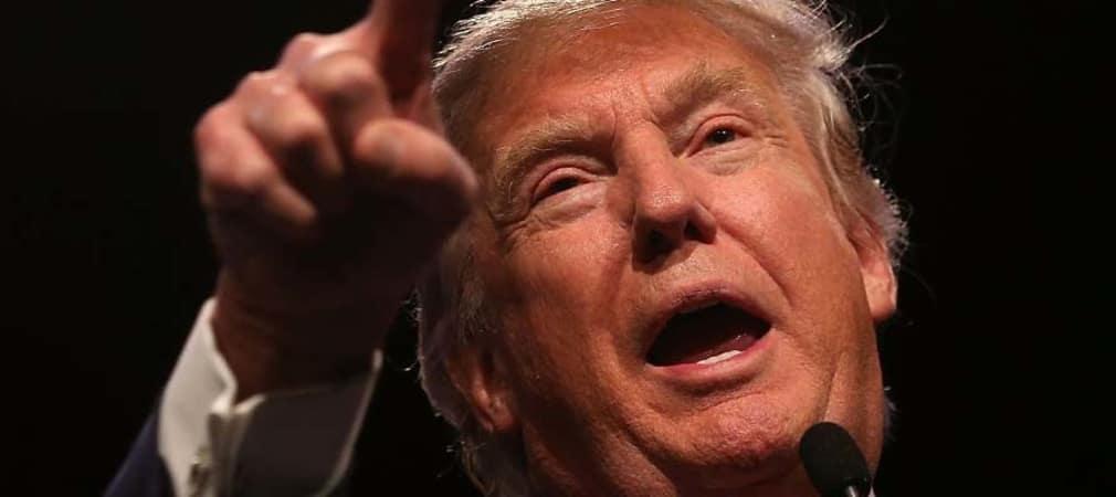 Golfliebhaber Donald Trump möchte Barack Obama bei der kommenden Wahl gerne als Präsident der USA ablösen.