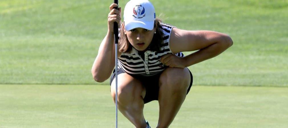 Karolin Lampert kam durch ihren Opa zum Golfsport. (Foto: Getty)