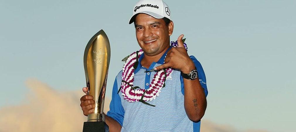 Fábian Gómez holt sich den Sieg bei der Sony Open auf Hawaii. (Foto: Getty)
