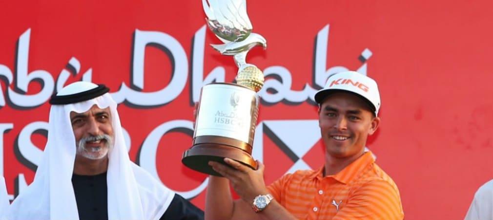 Rickie Fowler Sieger Abu Dhabi HSBC Golf Championship