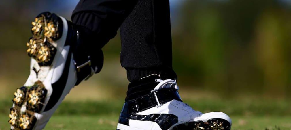 Das Objekt der Begierde: Rickie Fowlers Sneaker. (Foto: Getty)