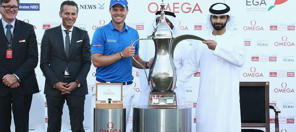 Danny Willett aus England ist der neue Sieger der Dubai Desert Classic. (Foto: Getty)