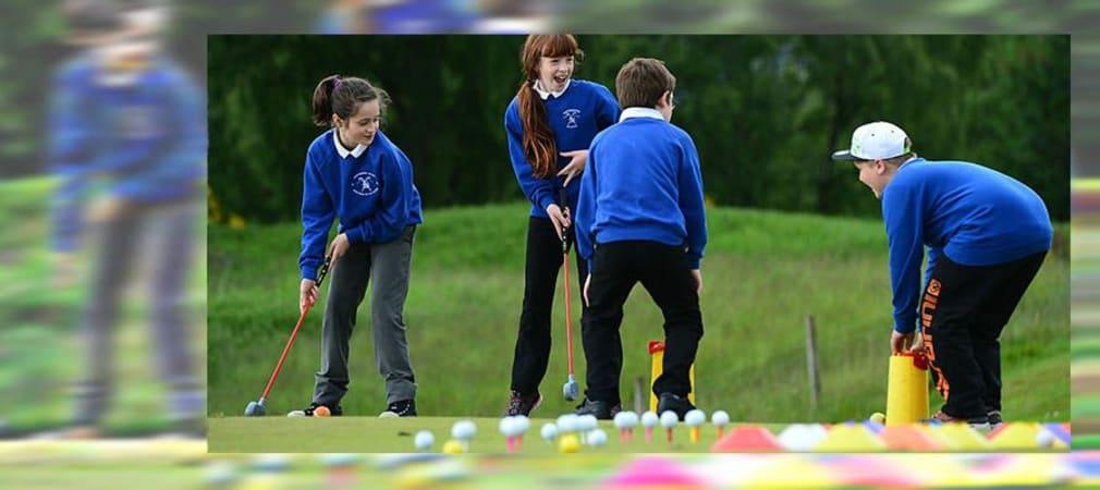 Golf in der Schule - das birgt ein großes Potenzial. Doch es braucht mehr, als das zu wissen. (Foto: Getty)