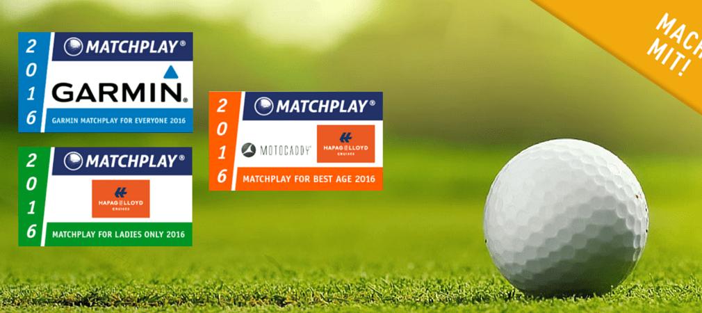 In 2016 finden drei Matchplay Serien statt: Garmin Matchplay for Everyone 2016, Matchplay for Ladies Only 2016 und Matchplay for Best Age 2016. (Foto: Golf Post)