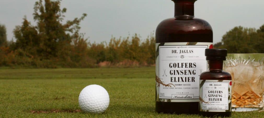 Nach einer Runde Golf: Eine Runde Ginseng! (Foto: Dr. Jaglas)