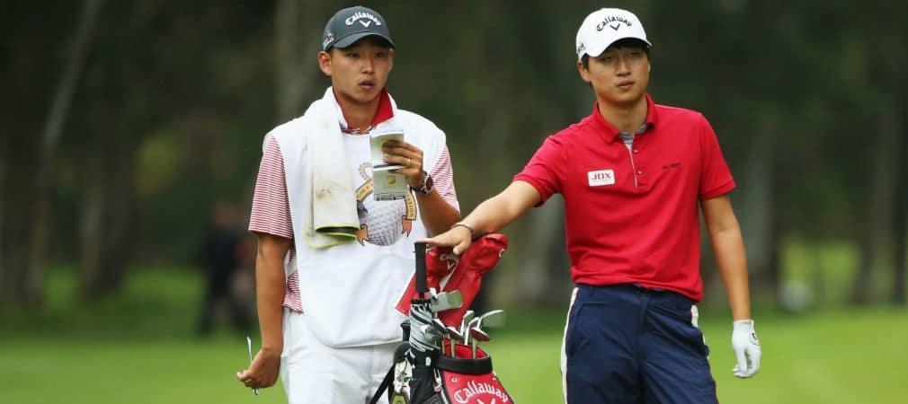Jeunghun Wang Mauritius Open Blick ins Bag