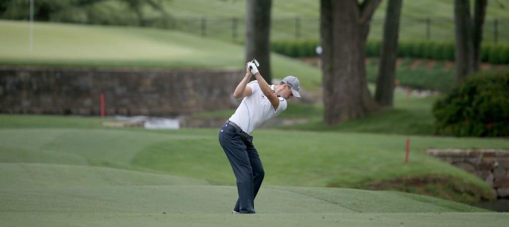 Mit Schwung ins Wochenende: Martin Kaymer sichert sich bei der Wells Fargo Championship die Teilnahme an den Finaltagen. (Foto: Getty)