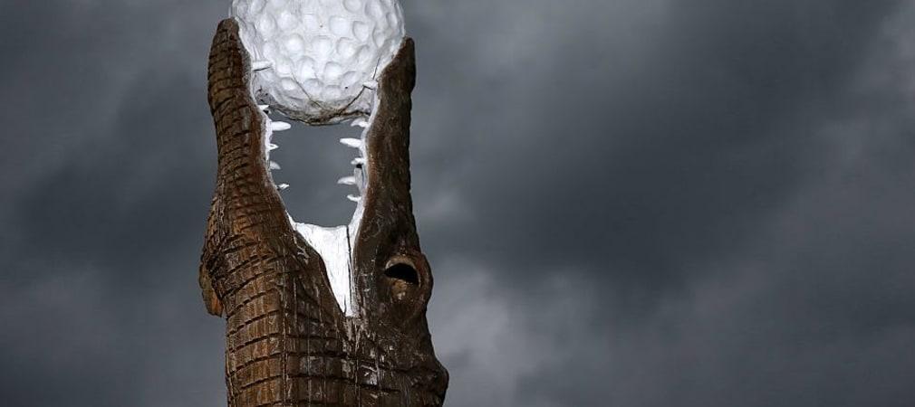 Vom Krokodil gefressen: Die dritte Runde der Zurich Classic. (Foto: Getty)