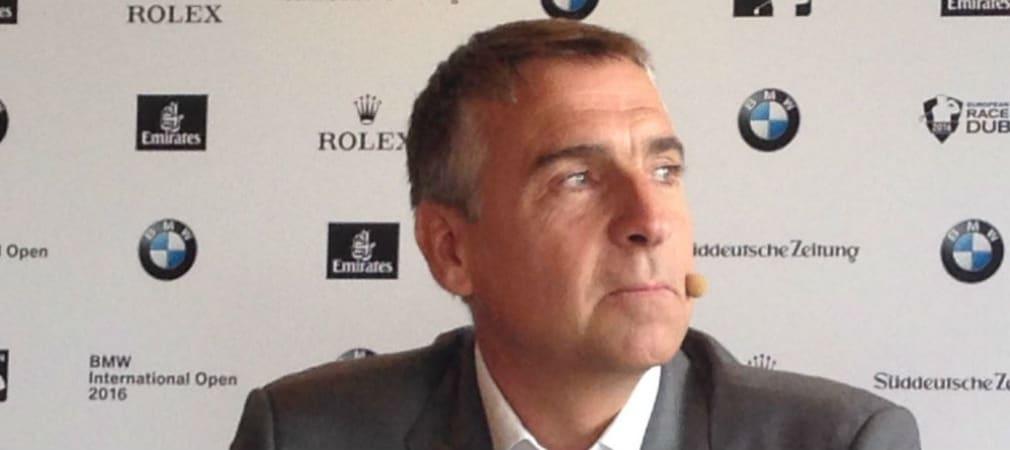 Marco Kaussler, Turnierdirektor der BMW International Open, freut sich nur wenige Tage nach der US Open auf prominente Spieler in Kölner Gut Lärchenhof. (Foto: Golf Post)