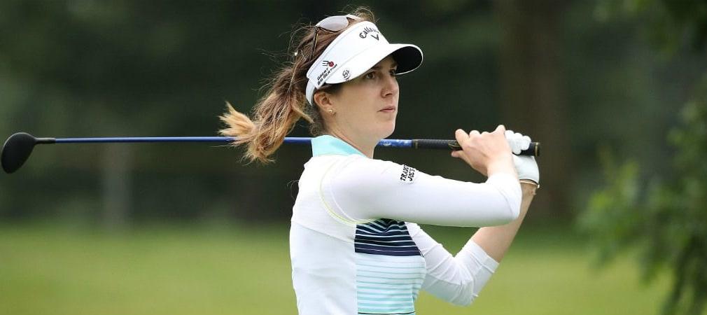 Sandra Gal ist auf einem guten Weg bei der Meijer LPGA Classic. (Foto: Getty)