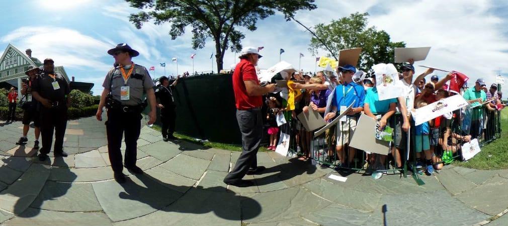 Bei allen Prognosen, wer die US Open 2016 gewinnen kann - Phil MIckelson wird wohl eher nur Zweiter.