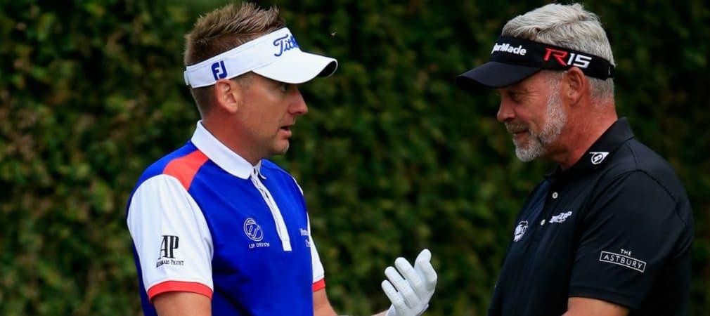 Darren Clarke setzt ein Zeichen und ernennt den verletzten Ian Poulter zum Vize-Kapitän des europäischen Ryder Cup Teams. (Foto: Getty)