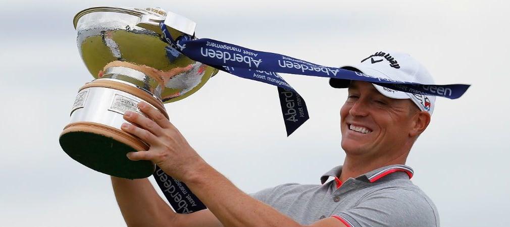 Stolzer Sieger der Scottish Open: Alexander Noren aus Schweden. (Foto: Getty)