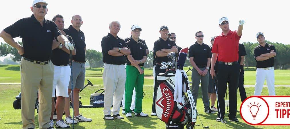 Die Kommunikation zwischen Trainer und Golfer ist wesentlicher Bestandteil des Coachings, wird aber oft unterschätzt. (Foto: Getty)