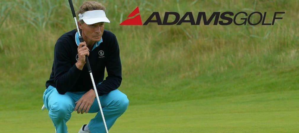 Bernhard Langer ist Adams Staff Spieler und wird von dem amerikanischen Schlägermacher ausgestattet. (Foto: Getty)