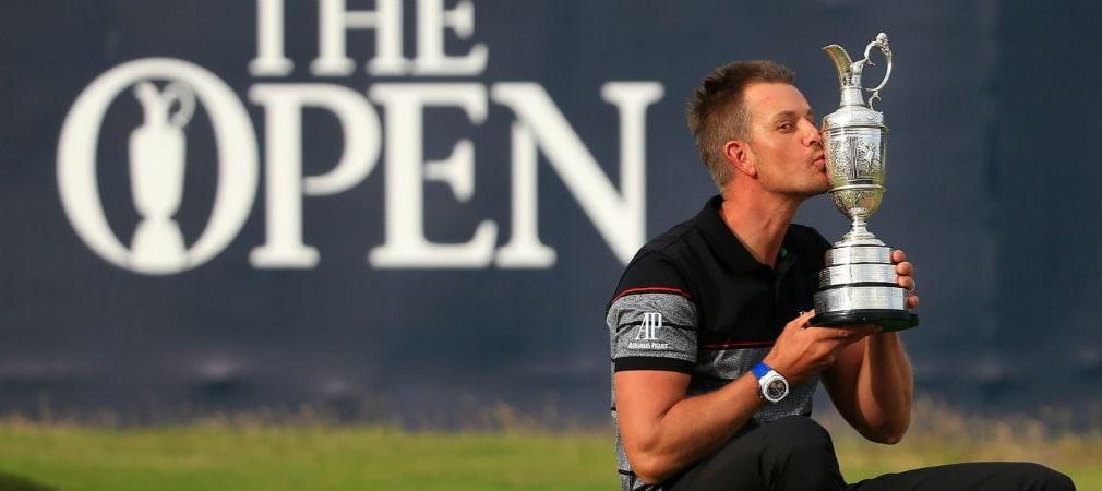 Henrik Stenson hat nach vielen Rückschlägen endlich sein erstes Major gewonnen. (Foto: Getty)