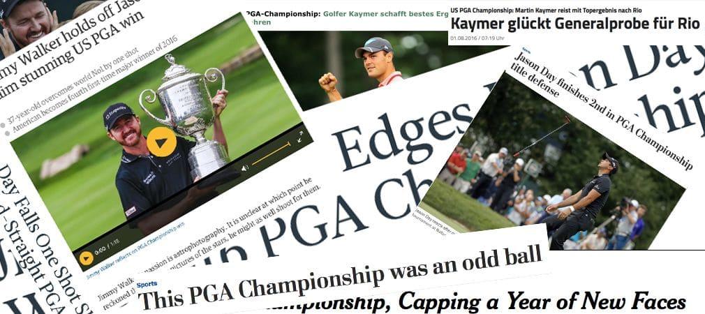 Medienecho Presseschau PGA Championship 2016 Jimmy Walker