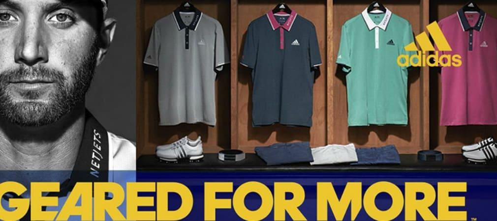 Adidas konnte den Überflieger der diesjährigen Saison, Dustin Johnson langfristig an sich binden. (Foto: Adidas Golf)