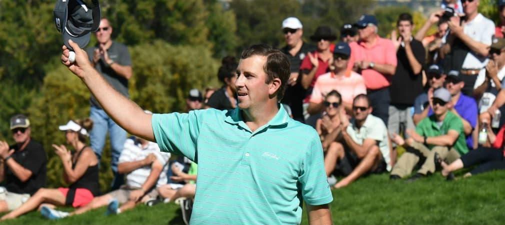 Mit dem Sieg bei der Albertsons Boise Open schafft Michael Thompson den Sprung auf die PGA Tour. (Foto: Getty)