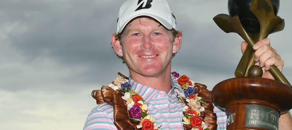 Brandt Snedeker strahlt: Nach dem Ryder Cup ist der US-Pro auch in der Südsee siegreich. (Foto: Getty)