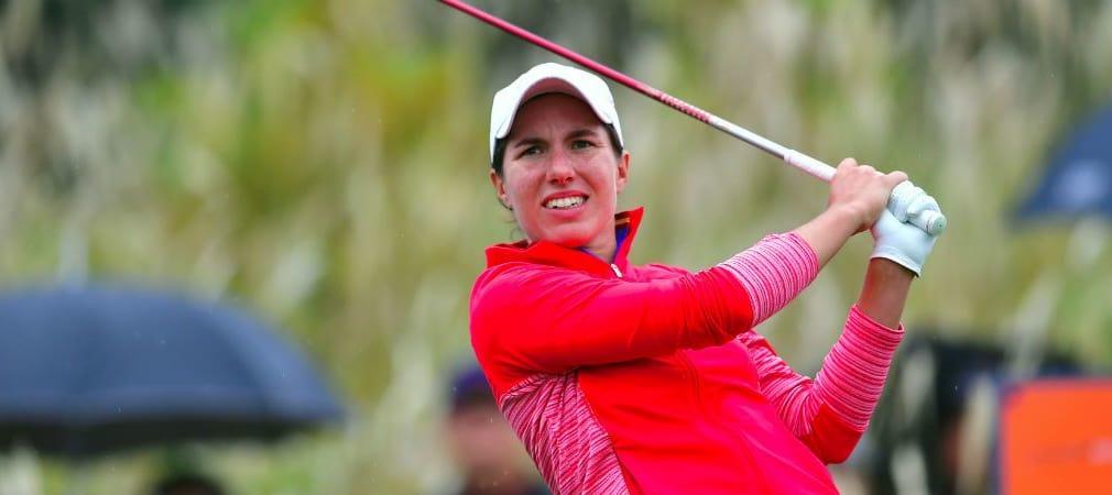 Carlota Ciganda kann sich über ihren ersten Sieg bei der Hana Bank Championship freuen. (Foto: Getty)
