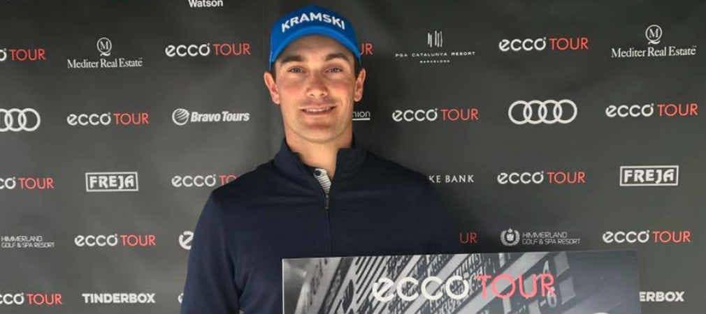 Florian Fritsch siegt auf der Ecco Tour im PGA Catalunya. (Foto: Facebook/@FloFritsch)