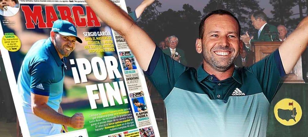 Sergio Garcia wird nach seinem Sieg beim US Masters Tournament nicht nur von den Medien in seiner spanischen Heimat in höchsten Tönen gelobt.
