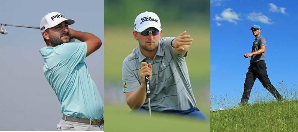 Die drei deutschsprachigen Profis wollen am Moving Day der US Open richtig aufdrehen. Die Tee Times im Überblick. (Foto: Getty)
