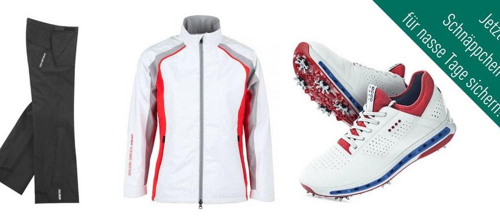Im Deal der Woche finden Sie Regenbekleidung, Golfschuhe und Pullover für die nass-kalten Tage von Galvin Green, Under Armour, Nike, Puma und Co. (Foto: Calvin Green / Ecco)