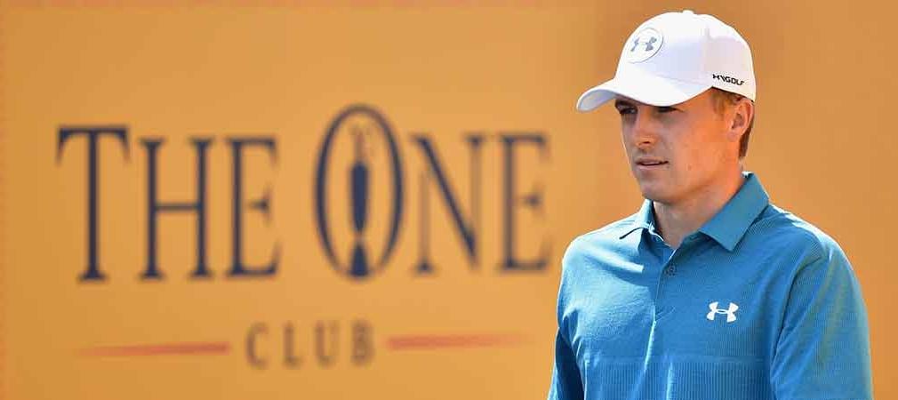 Jordan Spieth kann bei der British Open seinen dritten Majorsieg perfekt machen. (Foto: Getty)