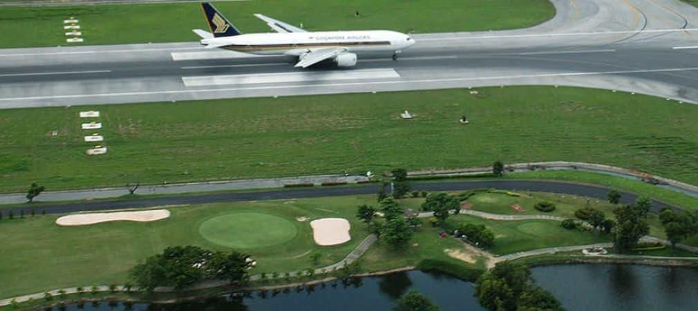 Der Staat spendet den Airport zum Golfplatz im Nirgendwo.