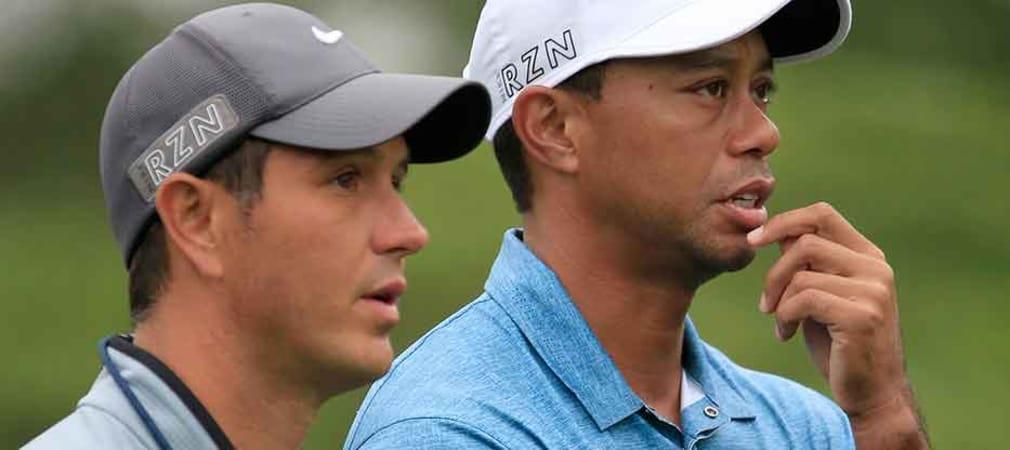 Eine Trainerstunde mit Tiger Woods wurde in Texas für eine sechsstellige Summe versteigert. (Foto: Getty)