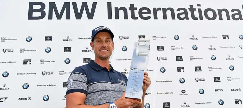 2017 gewann Henrik Stenson die BMW International Open. (Foto: Getty)