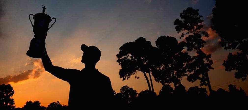 Martin Kaymer ist der einzige Deutsche, der die US Open bereits gewonnen hat. (Foto: Getty)