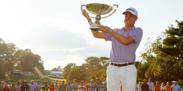 Justin Thomas Completes Incredible Year with FedEx Cup Triumph