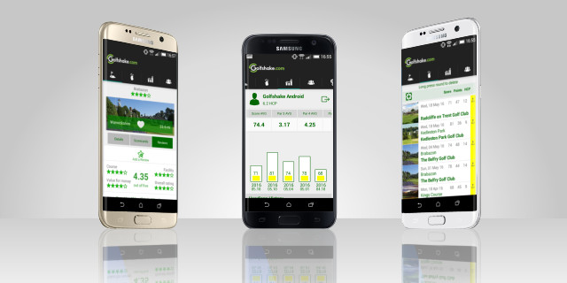 Track Scores via the Golfshake Android App