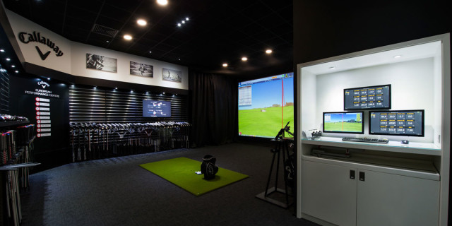 Callaway Fitting Room