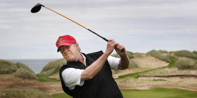 Donald Trump's Two Scottish Courses Lose £9.5m