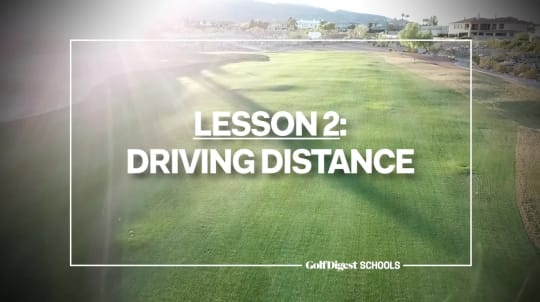 Lesson 2: Driving Distance